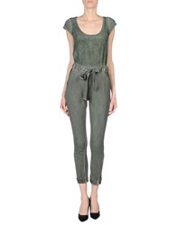 Roberto Collina Jumpsuits Military Green