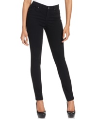 Style And Co. Petite Curvy Fit Skinny Jeans Black Wash