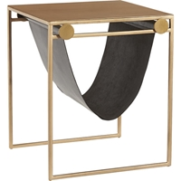Saic Sling Nightstand Side Table Cb2