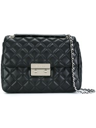 Michael Michael Kors Quilted Crossbody Bag Black