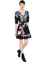 Temperley London Tattoos Hand Embroidered Poplin Dress