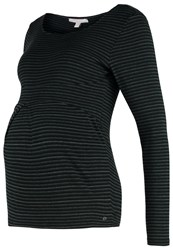 Esprit Maternity Long Sleeved Top Mythic Forest Dark Green