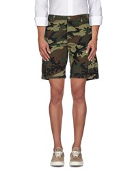 Obey Trousers Bermuda Shorts Men Military Green