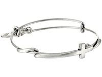 Alex And Ani Cross Wrap Rafaelian Silver Finish Bracelet