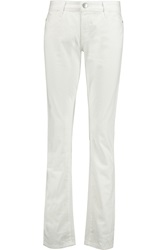 Current Elliott Charlotte Gainsbourg The Mid Rise Straight Leg Jeans