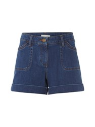 White Stuff Wilma Denim Short Light Blue