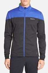 Craft 'Voyage Outdoor' Zip Training Jacket Atlantic Blue Black Gecko