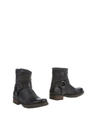 Oto Ankle Boots Steel Grey