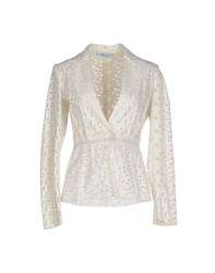 Blumarine Suits And Jackets Blazers Women Ivory