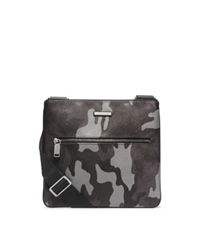 Michael Kors Jet Set Men's Camouflage Small Crossbody Grey