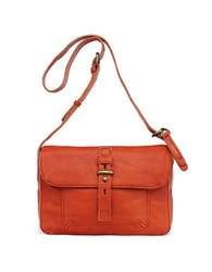 Lucky Brand Medine Leather Shoulder Bag Pumpkin Spice