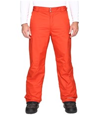 Columbia Bugaboo Ii Pant Tall Rust Red Men's Outerwear