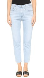 Ag Jeans The Phoebe Vintage High Waist Jeans Inviting Light