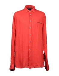 Scapa Sports Long Sleeve Shirts Red