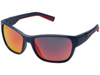 Julbo Eyewear Coast Performance Sunglasses Matte Dark Blue Red Sport Sunglasses