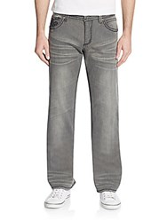 Affliction Blake Straight Leg Jeans Steamboat