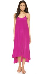 One By Willow Maxi Dress Magenta