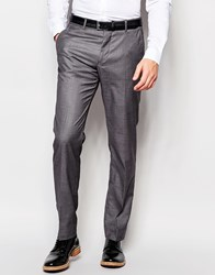 Vito Trousers In Slim Fit Charcoal Grey