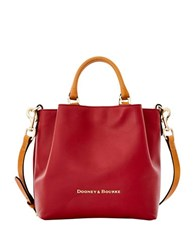 Dooney And Bourke City Small Leather Barlow Tote Wine