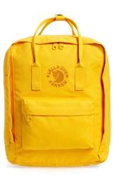 Fjall Raven Fjallraven 'Re Kanken' Water Resistant Backpack Yellow Sunflower