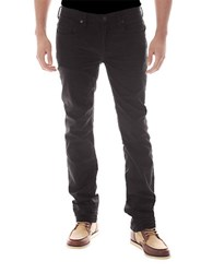 Buffalo David Bitton Six X Slim Straight Colored Jeans Charcoal