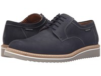 Mephisto Enzo Navy Sportbuck Men's Lace Up Casual Shoes Black
