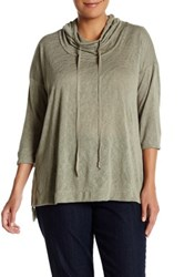 Hip Lightweight Pullover Plus Size Green