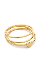 Gorjana Carina Midi Ring Set Gold