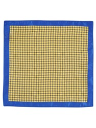 Skopes Silk Pocket Square Yellow