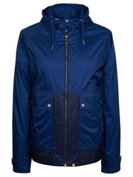 Pretty Green Men's Brompton Hooded Jacket Navy