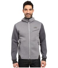 The North Face Thermal 3D Full Zip Hoodie Tnf Medium Grey Heather Men's Sweatshirt Gray