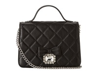 My Flat In London Westminster Small Top Handle Black Cross Body Handbags