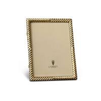 L'objet Gold Deco Twist Photo Frame 8 X 10