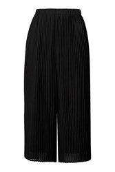 Pleated Culottes Trousers By Jovonna Black