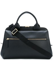 Marni Perforated Tote Black