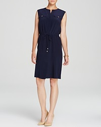 Magaschoni Silk Utility Dress