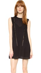 Knot Sisters Lovers Dress Black