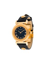 Versace 'Vanity Lady' Watch Black