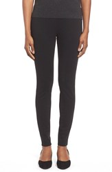 Eileen Fisher Stretch Ponte Leggings Black