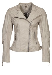 Gipsy Shakira Leather Jacket Grey
