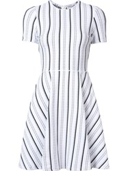Opening Ceremony Striped Flared Dress