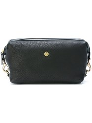 Mismo Hook Detail Wash Bag Black