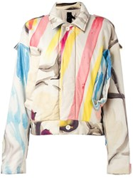 Bernhard Willhelm Abstract Print Jacket