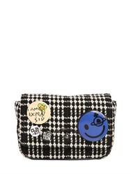 Vivienne Westwood Small Avon Tartan Badges Wool Bag