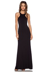 Bella Luxx Geometric Maxi Dress Black