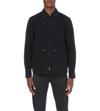 Yang Li Riders Cotton Twill Jacket Black