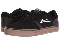 Lakai Vincent 2 Black Gum Suede Men's Skate Shoes