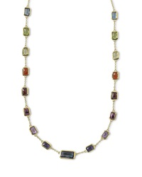 Ippolita 18K Rock Candy Fall Rainbow Chain Necklace 18'L Gold