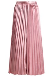 Tfnc Pleated Skirt Taupe Brown