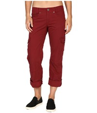 Kuhl Splash Roll Up Pant Syrah Women's Casual Pants Purple